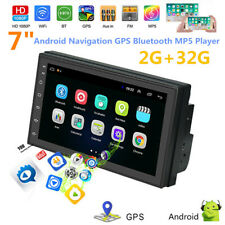 "Car 7"" Android 9.0 2.5D Navigation MP5 Player GPS Bluetooth 2 USB Built-in Map"