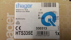 Hager HTS335E SLS-Schalter 3-polig E-35A für Sammelschiene