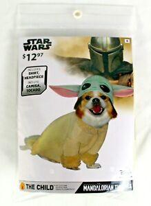 Disney Star Wars THE CHILD Mandalorian SMALL Baby Yoda Pet Costume Dog Puppy