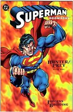 Superman Hunter-Prey Part 1-3 part set, DC Comics, Jurgens & Breeding