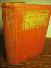 1st/1st Printing TESTING DIANA MALLORY Mrs. Humphrey Ward RARE Antique CLASSIC