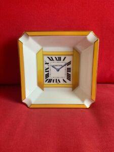 Cartier Clock Ashtray Great Condition