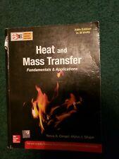 HEAT AND MASS TRANSFER, 5ED By Yunus Cengel SPECIAL INDIAN EDITION