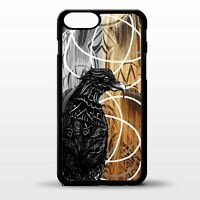 Odin crow raven norse print pattern rune viking god graphic phone case cover