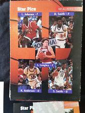 1991 STAR PICS BASKETBALL 72 CARD SET NBA