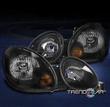 FOR 1998-2005 LEXUS GS300 GS400 GS430 REPLACEMENT HEADLIGHT HEADLAMP LAMP BLACK