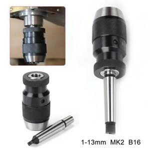 1-16mm Schnellspannfutter Schnellspannbohrfutter B16 Konus Standbohrmaschine