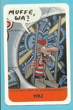 German Werner Comics Cool Collector Card  Europe Have a Look! Werner Beinhart