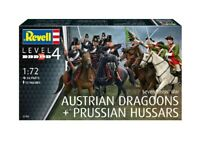 Seven Years War (Austrian Dragoons & Prussian Hussars) 1:72 Figure Model Kit