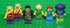 LEGO Ninjago - Cole, Lloyd, Jay, Kapau, Chope & Cowler - Mini Figures