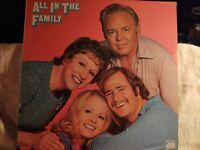 ALL IN THE FAMILY - ARCHIE BUNKER - LP RECORD ALBUM - VINYL -  ATLANTIC SD 7210