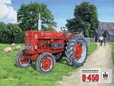 McCormick Farmall B450 Diesel Tractor Farm Classic Garage Large Metal/Tin Sign