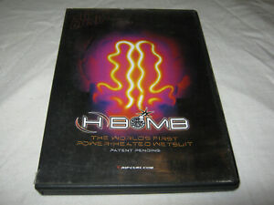 H Bomb - The World's First Power-Heated Wetsuit - RipCurl - VGC - DVD - R1