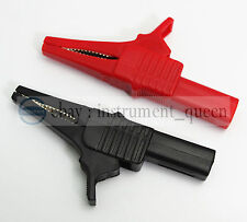 Alligator clip Multimeter pen HV test clips probes use for Fluke TL224 TL221