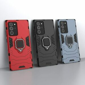 Cover Case Hybrid Iron Man Samsung Galaxy Note 20 Ultra Armor Magnet+Support