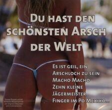 Du hast den schönsten Arsch der Welt Angie D, Partygeier, Markus Becker, .. [CD]