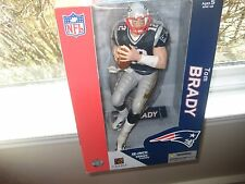 MCFARLANE NFL 12 INCH TOM BRADY BLUE JERSEY NEW ENGLAND PATRIOTS SUPERBOWL CHAMP