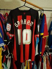 WATFORD FOOTBALL SHIRT Graham 10 GRANDI + NPower Patch