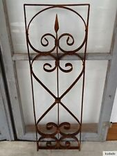 L1726 Window Bars ~ Balkongitter~Trellis~Art Nouveau~Wrought Iron