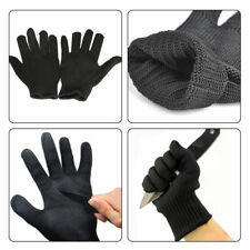 Stainless Steel Mesh Safety Gloves Stab Cut Proof. Hand and Finger Protection