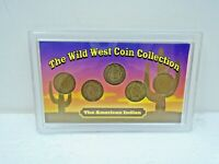 The Wild West Coin Collection 5 Indian Head Pennies 1907,1901,1900,1902, & 1900