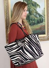 kate spade harmony baby bag tote travel cape mountain zebra black cream red