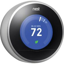 REPLACEMENT PART: Nest 2nd Generation Learning Thermostat Stainless Steel READ D