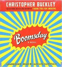 New -Boomsday by Christopher Buckley (2007, CD, Abridged, Unabridged)