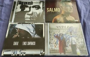 LOTTO CD Salmo Gemitaiz Marracash autografati