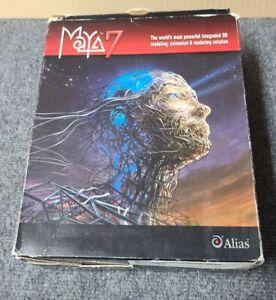 Alias Maya 7 - 3D Modeling Win Mac Linux Complete Set Maya7