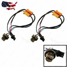 2x 7443 7444 Load Resistor Hyper Flash Canceller Switchback LED Signal Lights
