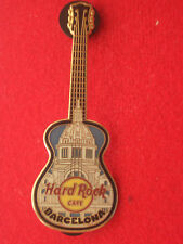 HRC Hard Rock Cafe Barcelone Palace Guitar HOLO BACK
