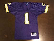 Rare Vintage Champion NFL Minnesota Vikings Warren Moon Football Jersey  Youth S