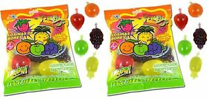 Tik Tok Din Don Jelly Fruit Candy 18 Pieces 4 FLAVOR FREE PRIORITY MAIL SHIPPING