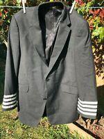 Genuine airline uniform jackets / blazers cabin crew pilots captains, FO,