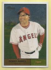 2010 Topps Chrome Baseball Bobby Abreu Heritage Chrome Angels 1120/1961