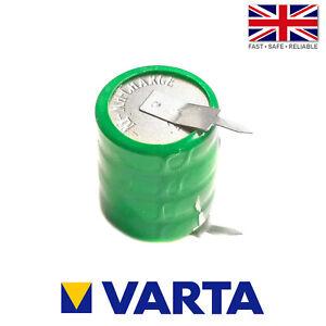 Varta 4/V20H / V20H Ni-MH 4.8V 20mAh Rechargeable 2 Pin Button Cell Battery