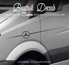 Sticker Side Stripe Mercedes Sprinter Vario Decal Graphics 311 313 Van Camper