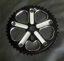 Von Giese VG BMX Racing Sprocket 44t - CNC Aluminum - Made in USA - BLACK