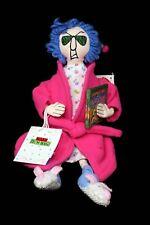 "Maxine Hallmark Christmas Carol Bah-Humbug Stuffed Plush Doll Bunny Slippers 15"""