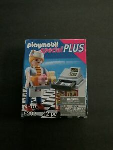 Playmobi 5292l Special Plus Cafeteria Items Cash Register Figure NEW SEALED