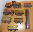 Brimtoy / Mettoy / Chad Valley Tinplate Trains & Coaches - restoration
