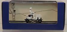 Tintin Herge voiture 64 Draisine Pays des Soviets atlas 1/43