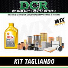 KIT TAGLIANDO ALFA ROMEO 147 1.6i 16V TS 120CV 88KW DAL 11/2000 + SHELL 10W40