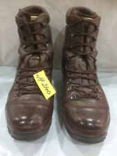 Used ALT-BERG  Defender Army Issue Brown Leather Combat Boots 10w Male #240