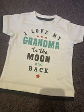 Baby T-shirt Brand New Nutmeg Size 9-12 Months