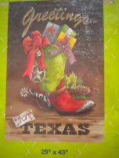 texas christmas flag