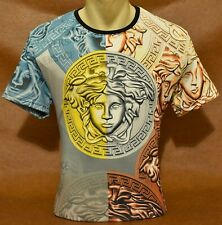 Summer'20 Brand New With Tags MEN'S VERSACE Slim Fit T-SHIRT Size M-L-XL-2XL