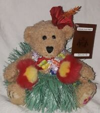 Hawaiian Collectibles 2003 Auana Hula Girl Bear - Little Flowers of Heaven