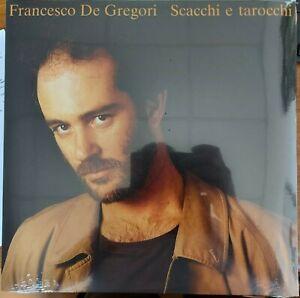 "LP FRANCESCO DE GREGORI ""SCACCHI E TAROCCHI"" - 180 GR NUOVO - COPERTINA SEGNATA"